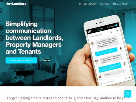 Property Management Communication Tools - The 'HeyLandlord' App Connects Tenants to Landlords