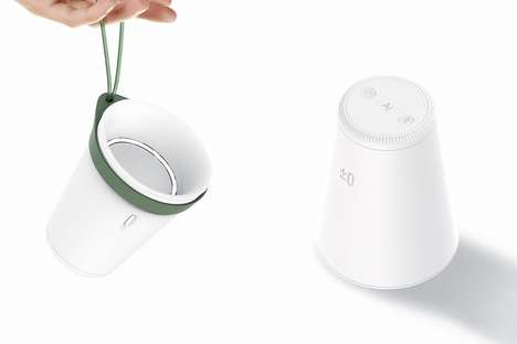 Concave Cup Speakers