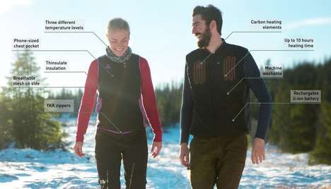 Heated Norwegian Apparel - 'Heat Experience' Offers Technical Clothing for Outdoor Enthusiasts