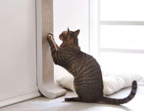 Discreet Cat Scratch Posts