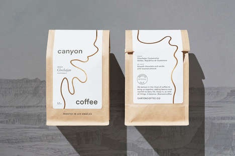 Gold Foil Coffee Branding