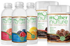 Nutritious Expectant Mother Snacks - The Mother Nurture Snacks Help Support Prenatal Health