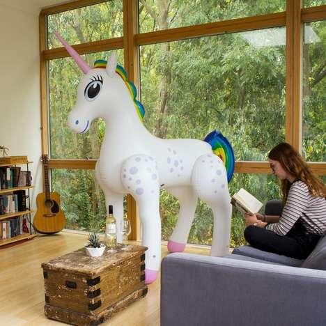 Novelty Inflatable Unicorns