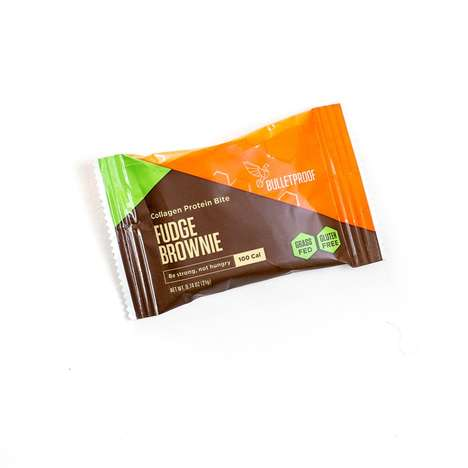 Collagen Protein Desserts - Bulletproof's Snacks for Protein Come in Shortbread and Brownie Flavors