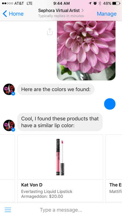 Color-Matching Makeup Bots - Sephora's Color Match Bot Scans Photos and Suggests Lipstick Shades