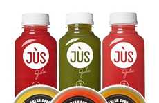 Hybrid Liquid Cleanses - This Three-Day Detox from JÙS by Julie Supplies Juices and Soups
