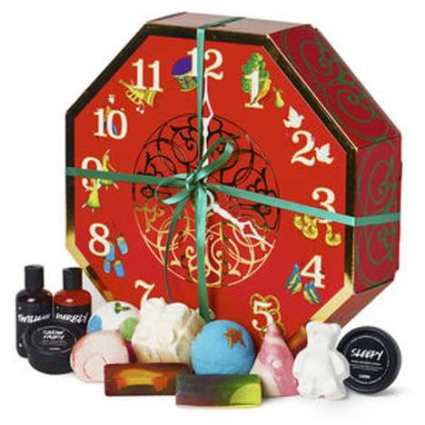 Bath Bomb Christmas Calendars - Lush's '12 Days of Christmas' Set is Packed with Skincare Goodies