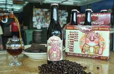 Pork-Infused Breakfast Brews - 'Beer for Breakfast' Combines the Best of Breakfast with Craft Beer