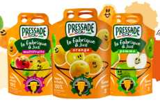 Easy-Pour Juice Pouches - The Pressade Juices Now Come in Pouch-up Bags with Built-in Spouts