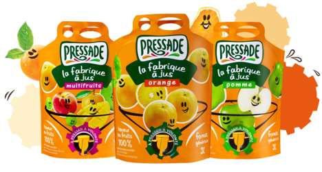 Easy-Pour Juice Pouches
