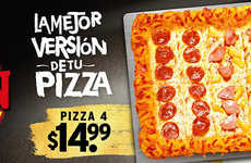 Bacon-Encrusted Pizzas - Pizza Hut's Bacon Gold Crust Option Features an Extra Serving of Pork