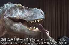 Ultra-Realistic T-Rex Costumes