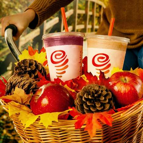 Cheerful Holiday Smoothies