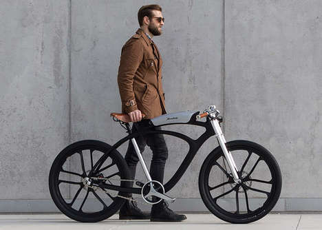 Air-Analyzing eBikes - The Noordung Angel Electric Limited-Edition Bike is Handmade to Perfection