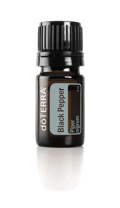 Multipurpose Pepper Oils - This Black Pepper Oil Can Be Used Internally, Topically and Aromatically