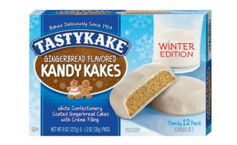Single-Serve Gingerbread Cakes - The New Gingerbread Kandy Kakes are a Festive Snack Option
