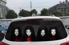 Terrifying Reflective Car Decals