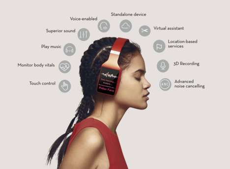 Smart Self-Contained Headphones