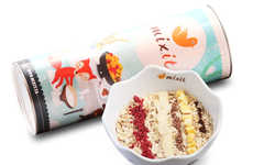 Seasonal Hot Cereal Mixes - Mixit.ca is Offering a New Line of Customizable Cereals for the Holidays