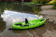 Lightweight Engine-Equipped Kayaks