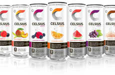 Metabolism-Boosting Energy Drinks - These Carbonated Energy Drinks are Aimed at Improving Fitness