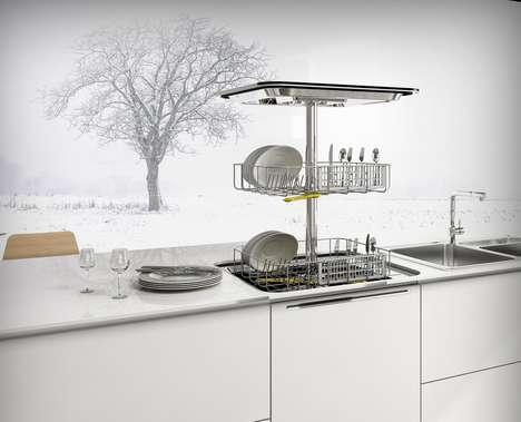 Pop-Up Countertop Dishwashers