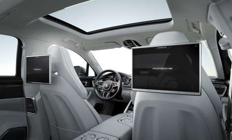 Massive Rear Seat Touchscreens