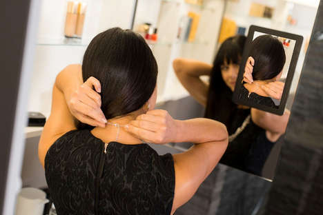 Reverse Angle Smart Mirrors - Imec's Smart Bathroom Mirror Shows Users the Back of Their Head