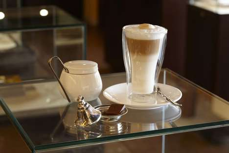 Camel Milk Cafe Menus - The 'Majlis Dubai' Cafe Serves Products Made With a Cow Milk Alternative