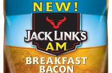 Breakfast-Themed Jerky Bites - Jack Links' Breakfast Line Offers Sausage and Bacon Snacks