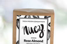 Protein-Enriched Nut Milk Powders - Nuez Beverages' Offers Milk Alternatives That are Additive-free