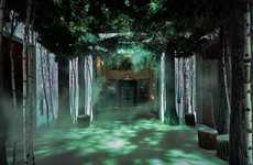 Immersive Holiday Tree Rooms - Claridge's Christmas Tree is a Room-Sized Experience