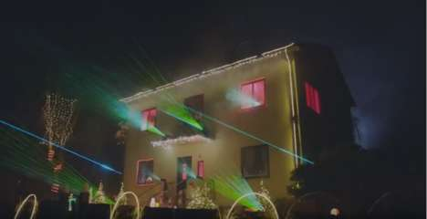 Solar-Powered Christmas Displays