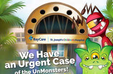 Anxiety-Alleviating Hospital Apps - The UnMonsters App Helps Pediatric Patients Stay Calm