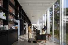 Inviting Mental Health Clinics - This Health Clinic Resembles an Open-Concept Library