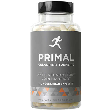 Vegetarian Anti-Inflammatory Capsules - 'Primal Joint Support' Uses Celadrin and Turmeric