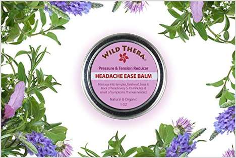 Herbal Headache Relief Balms
