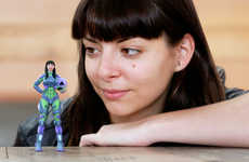 Custom 3D-Printed Action Figures - 'HeroMods' 3D-Printed Models Turn People into Mini Superheros