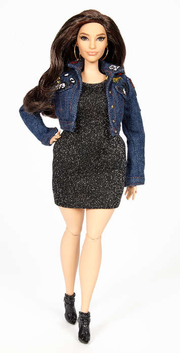 Body-Positive Barbie Dolls - The Ashley Graham Barbie Was Designed with Thighs That Touch