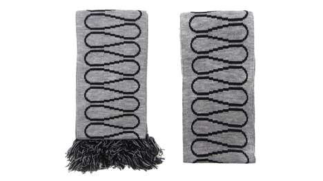 Architectural Pun Scarves - Sam Jacob Studio's 'Insulation Scarf' is an In-Joke for Architects