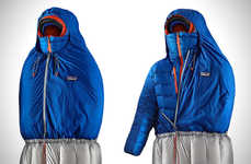 Jacket-Accommodating Sleeping Bags