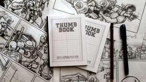 Pocket Comic Sketchbooks
