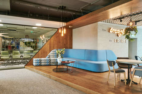 Compartmentalized Office Interiors