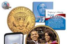 Presidential Forget Me Nots - Obama Memorabilia To Celebrate Inauguration Day
