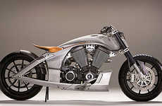 Exposed Motorcycle Frames - Victory Hits the CORE of Minimalist Motor Vehicles
