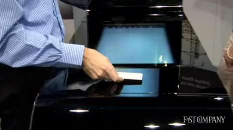 Futuristic Shopping Experiences - Touchscreen Cash Registers Make Upselling a Breeze