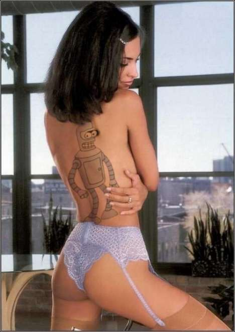 Robotic Tattoos