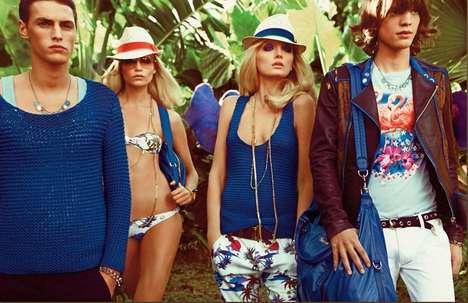 Sunny Garden Fashion Ads