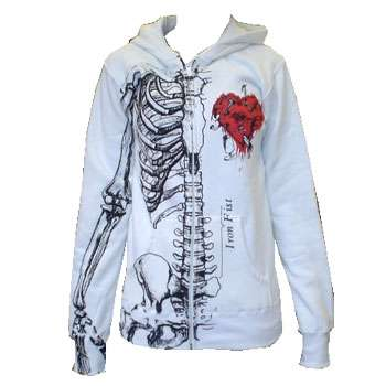 Human Anatomy Hoodies - Fashion To Show You've Really Got Guts (And a Heart)