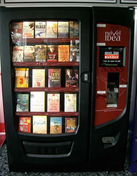 Vending Machines for Books